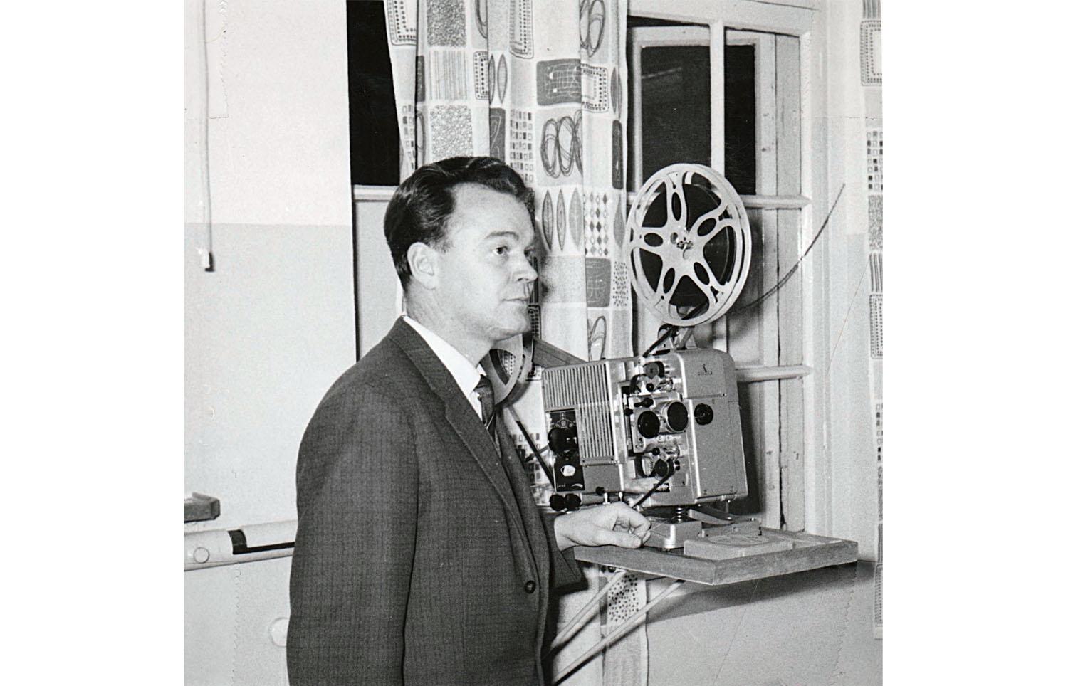 Ingenjör Ingemar Sylén, produktionstekniska