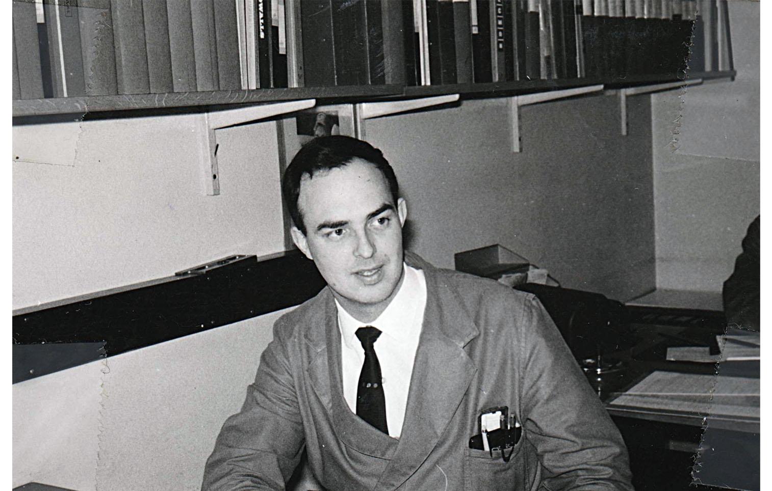 Ingenjör Piter van den Berg